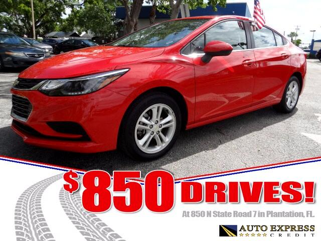 2017 Chevrolet Cruze The 2017 Chevrolet Cruze compact comes in two body styles sedan and hatchback