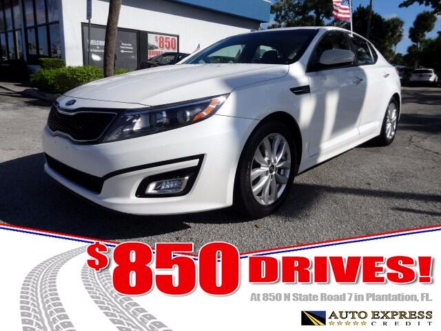 2015 Kia Optima The Kia Optima is a five-passenger front-drive mid-size sedan which places it squar