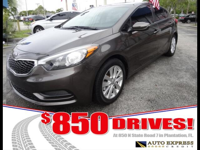 2014 Kia Forte 850 DRIVES AT 850 N STATE ROAD 7 Thats right ONLY 850 bucks can get you driving