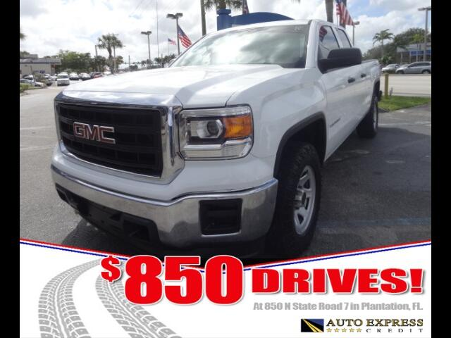 2014 GMC Sierra 1500 850 DRIVES AT 850 N STATE ROAD 7 Thats right ONLY 850 bucks can get you dr