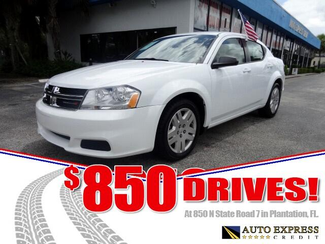 2014 Dodge Avenger The Dodge Avenger is an honest straightforward sedan at a good price-In certai