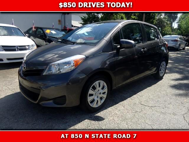 2014 Toyota Yaris 850 DRIVES AT 850 N STATE ROAD 7 Thats right ONLY 850 bucks can get you drivi