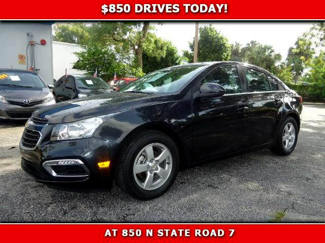 2015 Chevrolet Cruze 850 DRIVES AT 850 N STATE ROAD 7 Thats right ONLY 850 bucks can get you dr