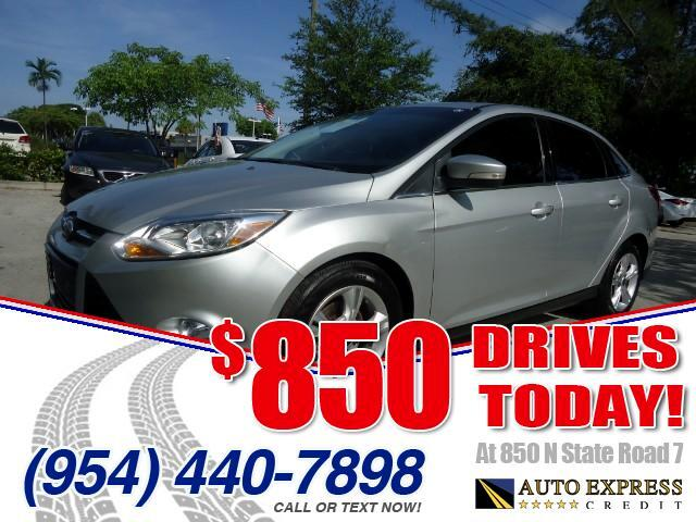 2012 Ford Focus 850 DRIVES AT 850 N STATE ROAD 7 Thats right ONLY 850 bucks can get you driving