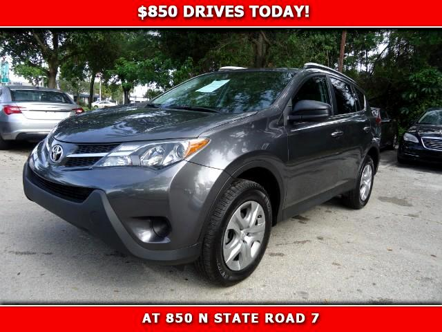 2014 Toyota RAV4 850 DRIVES AT 850 N STATE ROAD 7 Thats right ONLY 850 bucks can get you driving