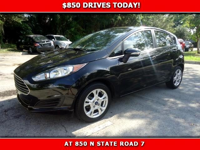 2014 Ford Fiesta 850 DRIVES AT 850 N STATE ROAD 7 Thats right ONLY 850 bucks can get you drivin
