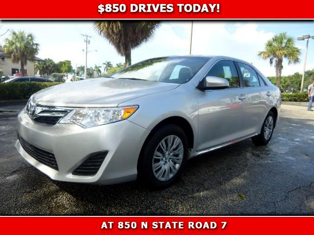 2014 Toyota Camry 850 DRIVES AT 850 N STATE ROAD 7 Thats right ONLY 850 bucks can get you drivi