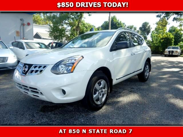 2014 Nissan Rogue Select 850 DRIVES AT 850 N STATE ROAD 7 Thats right ONLY 850 bucks can get yo