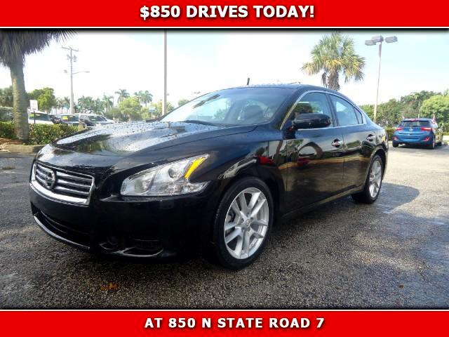 2014 Nissan Maxima 850 DRIVES AT 850 N STATE ROAD 7 Thats right ONLY 850 bucks can get you driv