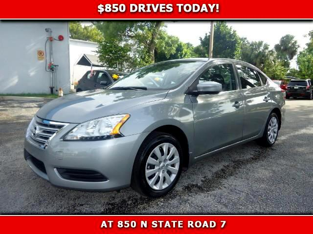 2014 Nissan Sentra 850 DRIVES AT 850 N STATE ROAD 7 Thats right ONLY 850 bucks can get you driv