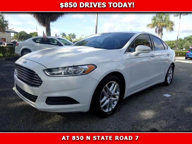 2013 Ford Fusion 850 DRIVES AT 850 N STATE ROAD 7 Thats right ONLY 850 bucks can get you drivin