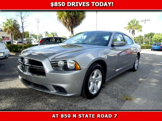 2014 Dodge Charger 850 DRIVES AT 850 N STATE ROAD 7 Thats right ONLY 850 bucks can get you driv
