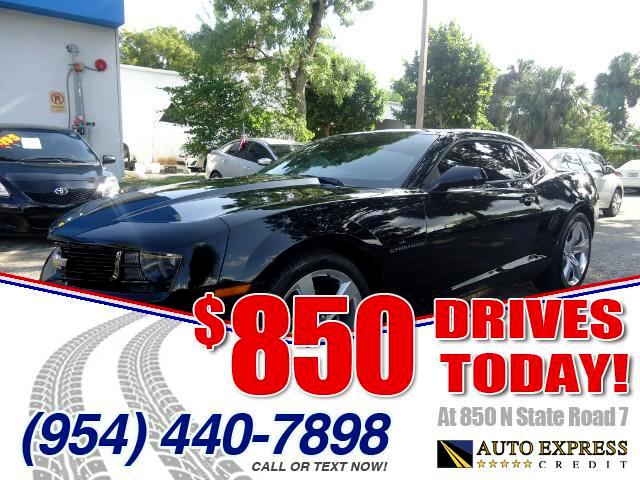 2013 Chevrolet Camaro 850 DRIVES AT 850 N STATE ROAD 7 Thats right ONLY 850 bucks can get you d