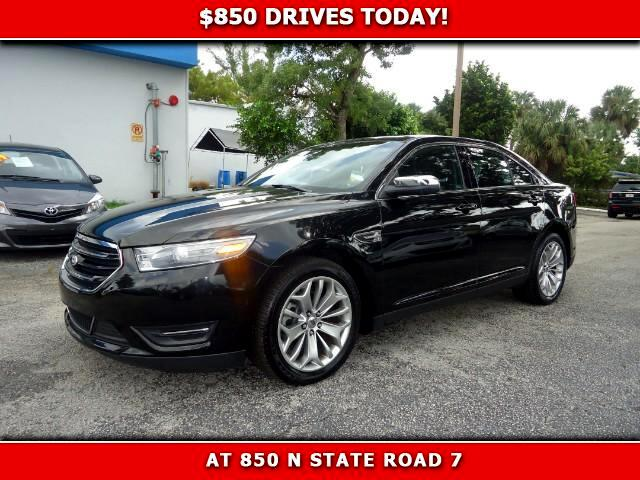 2014 Ford Taurus 850 DRIVES AT 850 N STATE ROAD 7 Thats right ONLY 850 bucks can get you drivin
