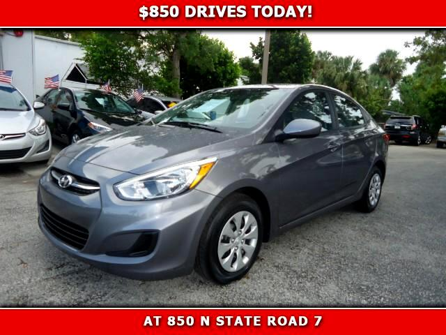 2015 Hyundai Accent 850 DRIVES AT 850 N STATE ROAD 7 Thats right ONLY 850 bucks can get you dri