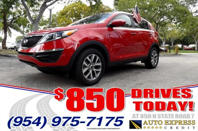 2014 Kia Sportage 850 DRIVES AT 850 N STATE ROAD 7 Thats right ONLY 850 bucks can get you drivi