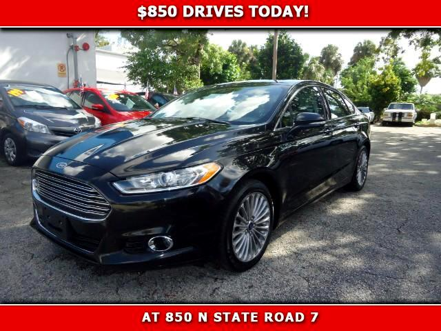 2014 Ford Fusion 850 DRIVES AT 850 N STATE ROAD 7 Thats right ONLY 850 bucks can get you drivin