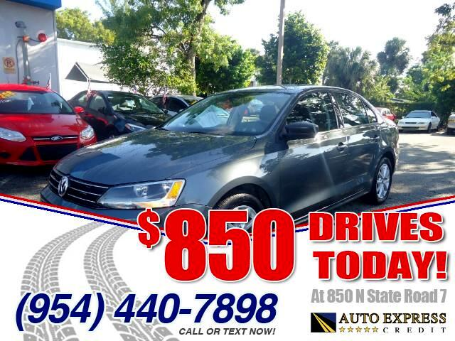 2015 Volkswagen Jetta 850 DRIVES AT 850 N STATE ROAD 7 Thats right ONLY 850 bucks can get you d