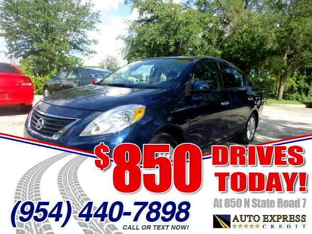 2014 Nissan Versa 850 DRIVES AT 850 N STATE ROAD 7 Thats right ONLY 850 bucks can get you drivi