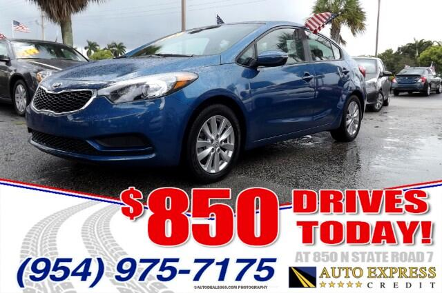 2014 Kia Forte Kia Forte is all-new for 2014The 2014 Kia Forte was launched as a four-door sedan w