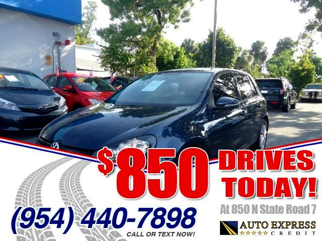 2013 Volkswagen Golf 850 DRIVES AT 850 N STATE ROAD 7 Thats right ONLY 850 bucks can get you dr