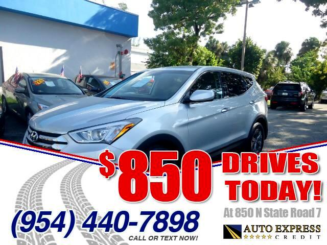2015 Hyundai Santa Fe 850 DRIVES AT 850 N STATE ROAD 7 Thats right ONLY 850 bucks can get you d