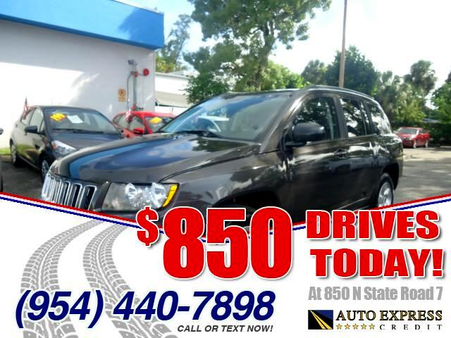 2014 Jeep Compass 850 DRIVES AT 850 N STATE ROAD 7 Thats right ONLY 850 bucks can get you drivi