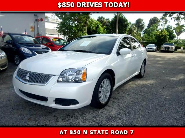 2012 Mitsubishi Galant 850 DRIVES AT 850 N STATE ROAD 7 Thats right ONLY 850 bucks can get you
