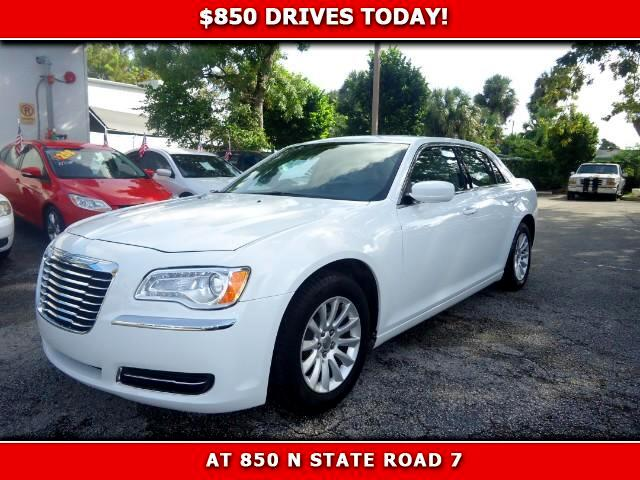 2014 Chrysler 300 850 DRIVES AT 850 N STATE ROAD 7 Thats right ONLY 850 bucks can get you drivi