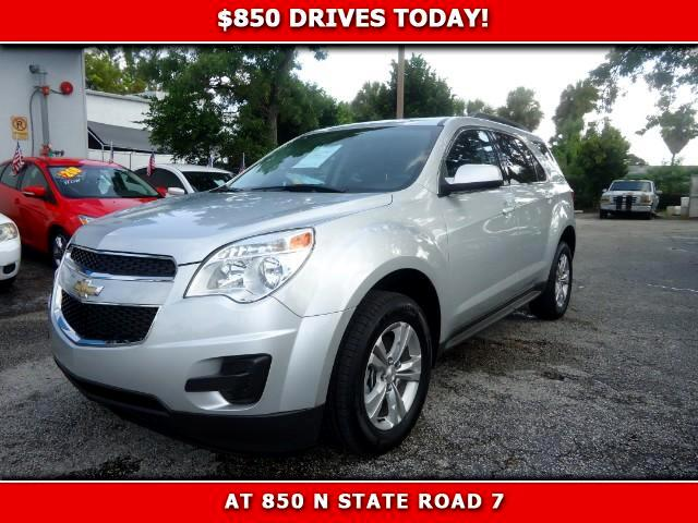 2014 Chevrolet Equinox 850 DRIVES AT 850 N STATE ROAD 7 Thats right ONLY 850 bucks can get you