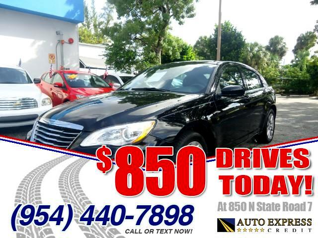 2014 Chrysler 200 850 DRIVES AT 850 N STATE ROAD 7 Thats right ONLY 850 bucks can get you drivi