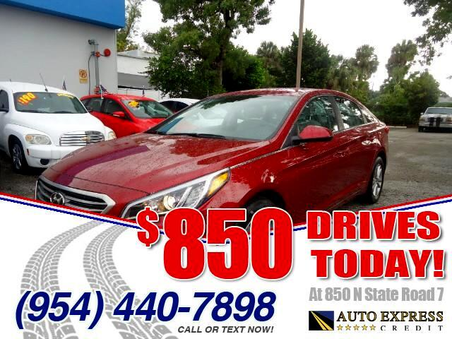 2015 Hyundai Sonata 850 DRIVES AT 850 N STATE ROAD 7 Thats right ONLY 850 bucks can get you dri