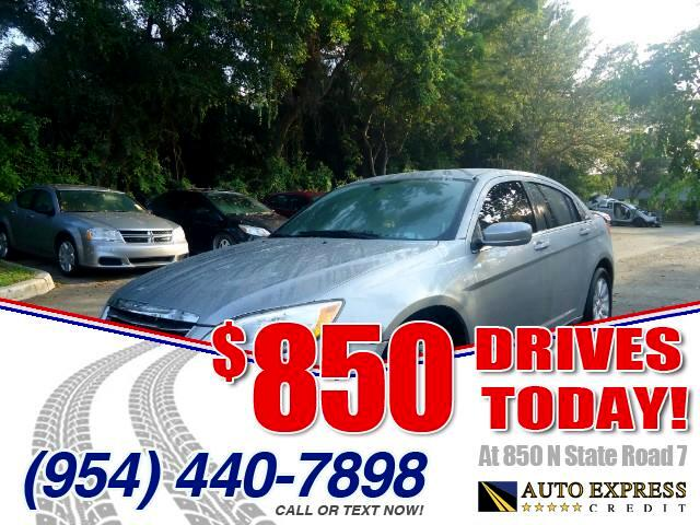 2013 Chrysler 200 850 DRIVES AT 850 N STATE ROAD 7 Thats right ONLY 850 bucks can get you drivi