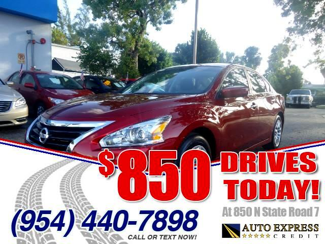 2015 Nissan Altima 850 DRIVES AT 850 N STATE ROAD 7 Thats right ONLY 850 bucks can get you driv
