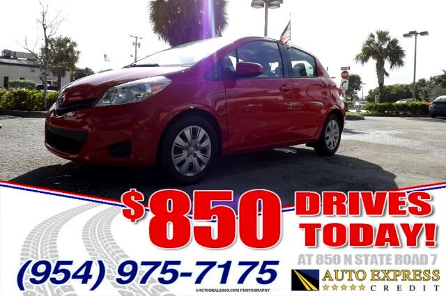 2013 Toyota Yaris The Toyota Yaris is a five-seat subcompact car available as either a three-door o