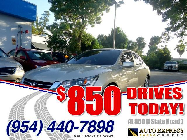 2013 Honda Accord 850 DRIVES AT 850 N STATE ROAD 7 Thats right ONLY 850 bucks can get you drivi