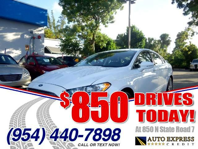 2015 Ford Fusion 850 DRIVES AT 850 N STATE ROAD 7 Thats right ONLY 850 bucks can get you drivin