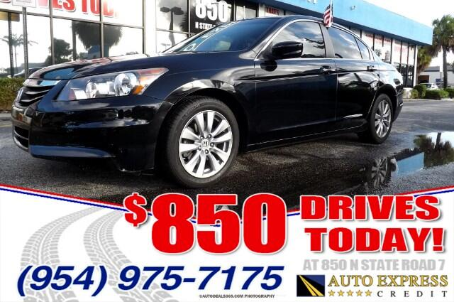 2012 Honda Accord The Honda Accord is difficult to beat in terms of overall performance efficiency