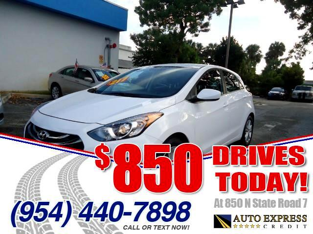 2015 Hyundai Elantra GT 850 DRIVES AT 850 N STATE ROAD 7 Thats right ONLY 850 bucks can get you