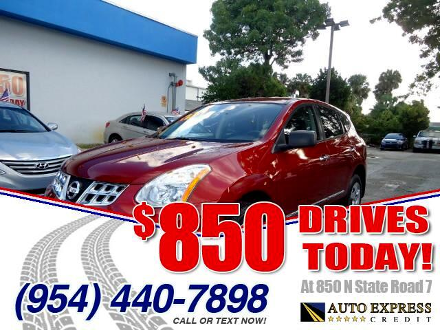 2013 Nissan Rogue 850 DRIVES AT 850 N STATE ROAD 7 Thats right ONLY 850 bucks can get you drivi