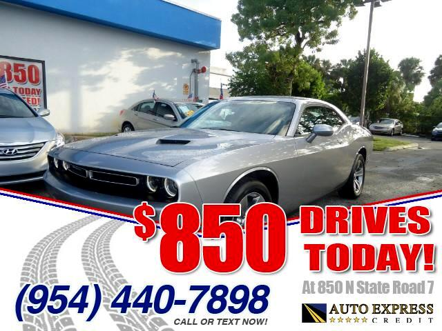 2015 Dodge Challenger 850 DRIVES AT 850 N STATE ROAD 7 Thats right ONLY 850 bucks can get you d