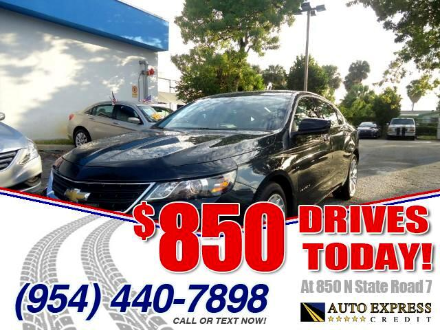 2015 Chevrolet Impala 850 DRIVES AT 850 N STATE ROAD 7 Thats right ONLY 850 bucks can get you d