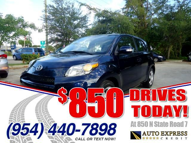 2013 Scion xD 850 DRIVES AT 850 N STATE ROAD 7 Thats right ONLY 850 bucks can get you driving t