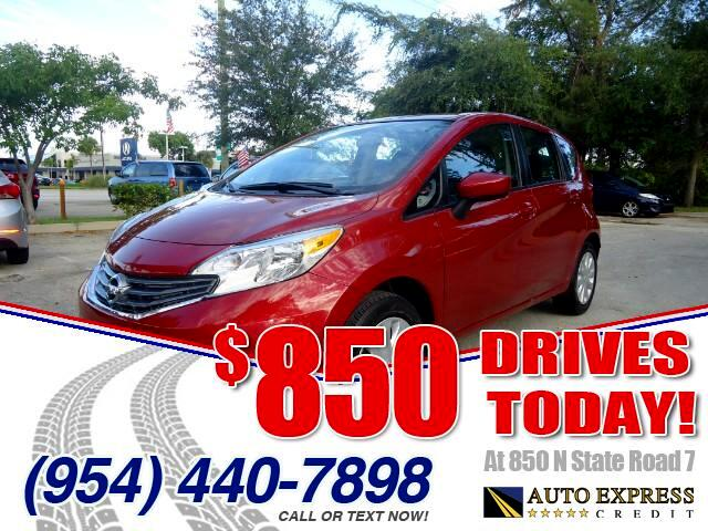 2015 Nissan Versa Note 850 DRIVES AT 850 N STATE ROAD 7 Thats right ONLY 850 bucks can get you