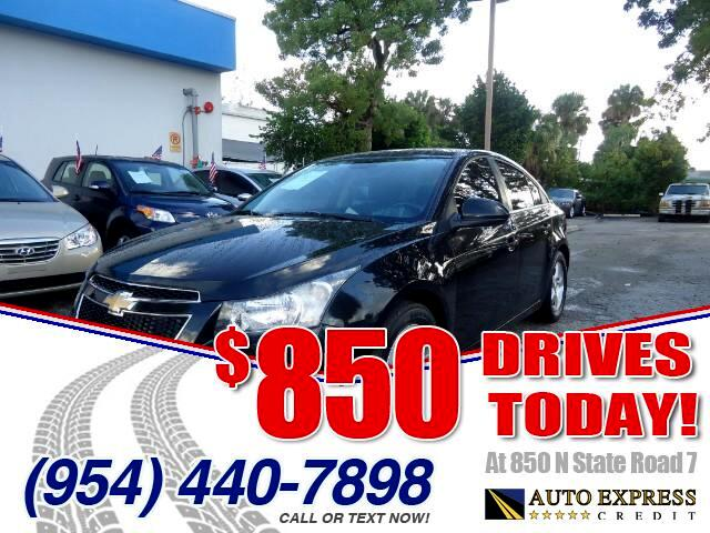 2013 Chevrolet Cruze 850 DRIVES AT 850 N STATE ROAD 7 Thats right ONLY 850 bucks can get you dr