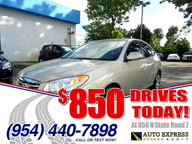 2010 Hyundai Elantra 850 DRIVES AT 850 N STATE ROAD 7 Thats right ONLY 850 bucks can get you dr