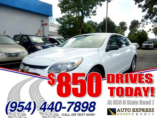 2015 Chevrolet Malibu 850 DRIVES AT 850 N STATE ROAD 7 Thats right ONLY 850 bucks can get you d