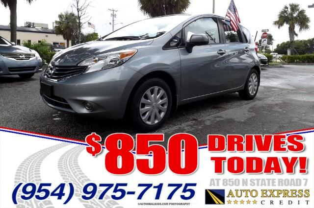 2014 Nissan Versa Note The Versa is Nissans entry-level car with the intention of attracting econo