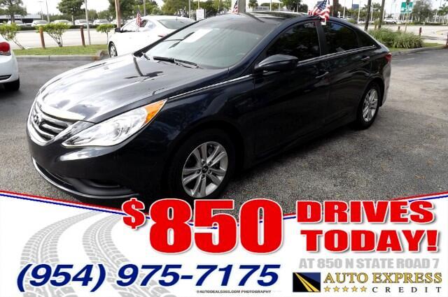 2014 Hyundai Sonata 850 DRIVES AT 850 N STATE ROAD 7 Thats right ONLY 850 bucks can get you dri