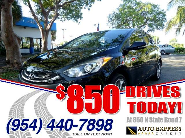 2013 Hyundai Elantra GT 850 DRIVES AT 850 N STATE ROAD 7 Thats right ONLY 850 bucks can get you